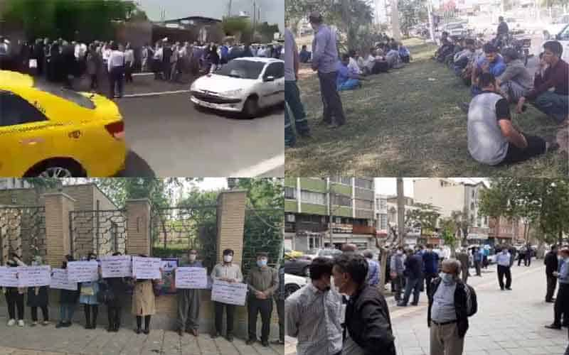 Iranians-Continue-Protests-at-Least-14-Rallies-and-Strikes-from-April-26-to-28