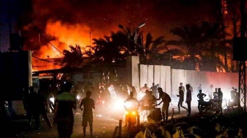 OnSunday Iraqiprotesters stormed the Iranian regime's Consulate in the southern Iraq after the regime's proxies assassinated Jawad al-Wazni