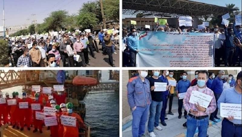 Protes di berbagai kota di Iran