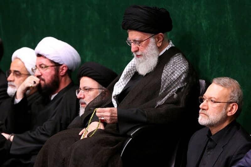Raisi dan Larijani 2