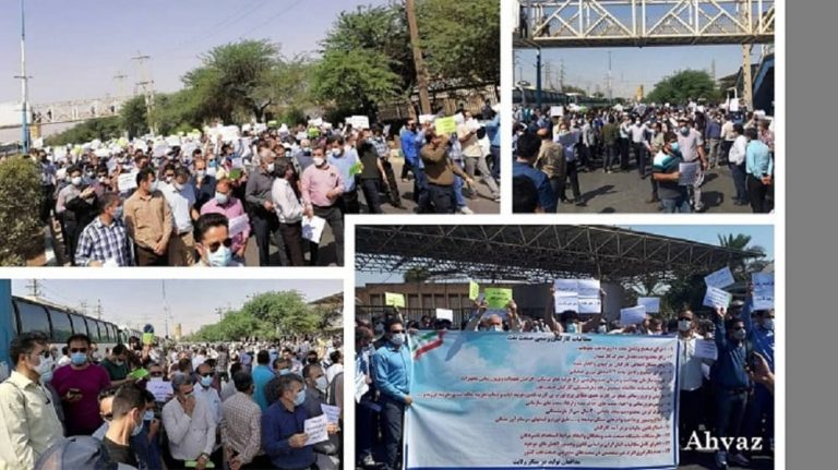 Iran: Nationwide Protests By Oil Workers And Employees In Oil Centers In 9 Cities