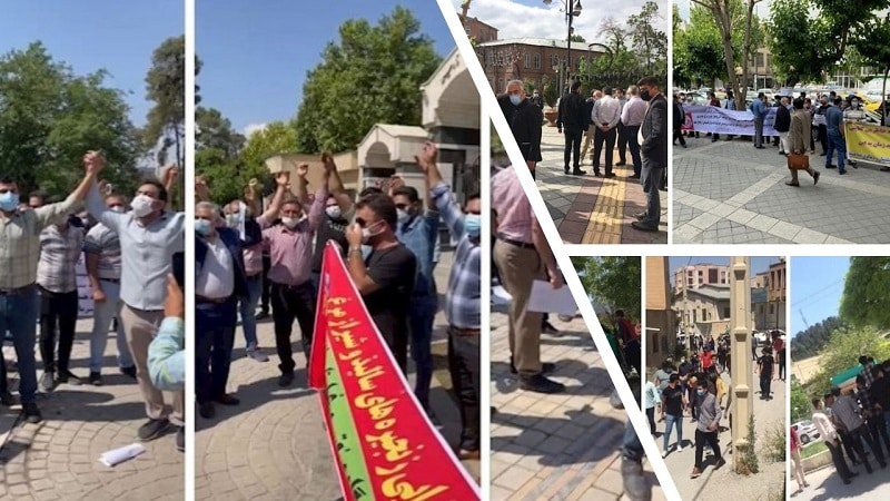 According to reports tallies by the People's Mojahedin Organization of Iran (PMOI/MEK), as Iran's economic and social crises deepen, more protests are held across the country.
