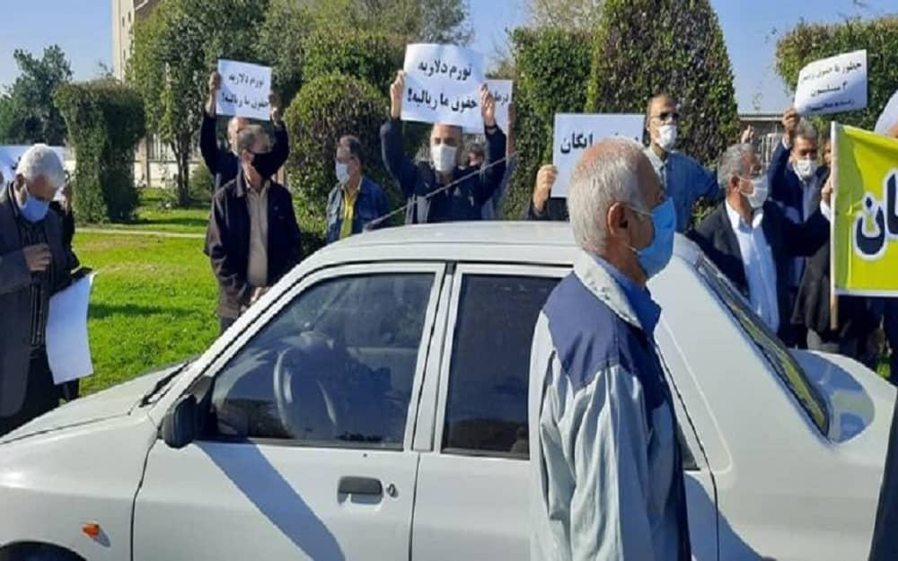 Iran-retirees-protest