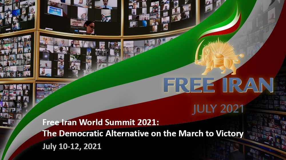 """The """"Free Iran World Summit 2021"""" organizing committee has announced the dates for its latest rally of Iranian expatriates and political dignitaries. The event is scheduled to begin on Saturday, July 10, and conclude Monday, July 12."""