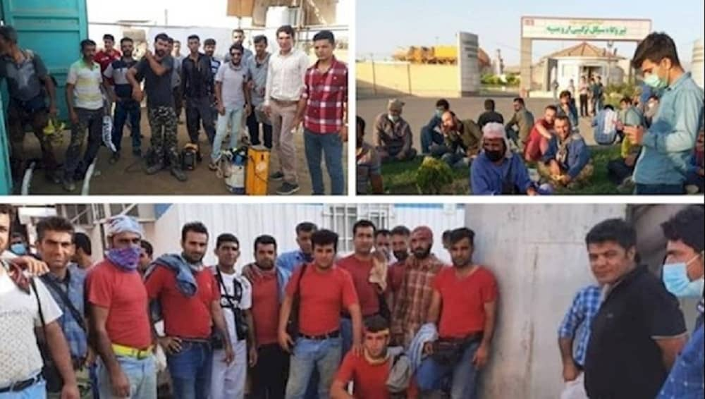 Protests by oil workers in different Iranian cities — June 2021 (1)