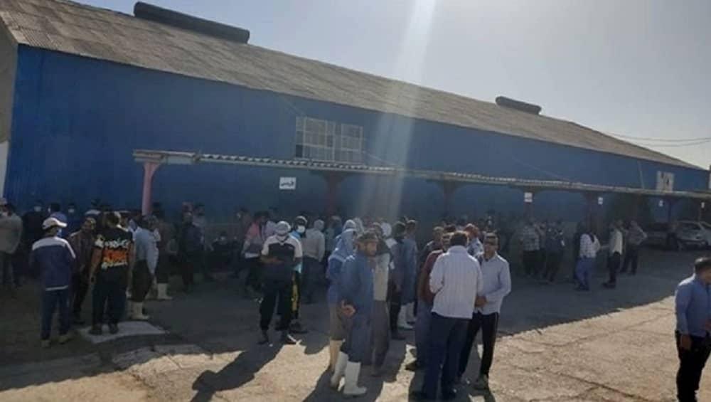 Protes oleh pekerja pertanian Haft Tappeh