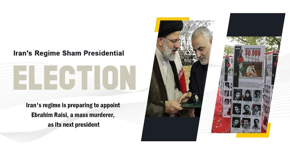 Pemilihan presiden palsu rezim Iran adalah parodi belaka dan pertunjukan satu orang, karena Ebrahim Raisi akan ditarik keluar dari kotak suara