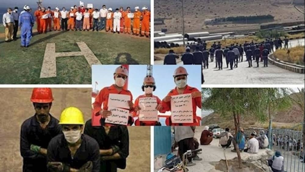 Strikes by oil-sector workers in Iran
