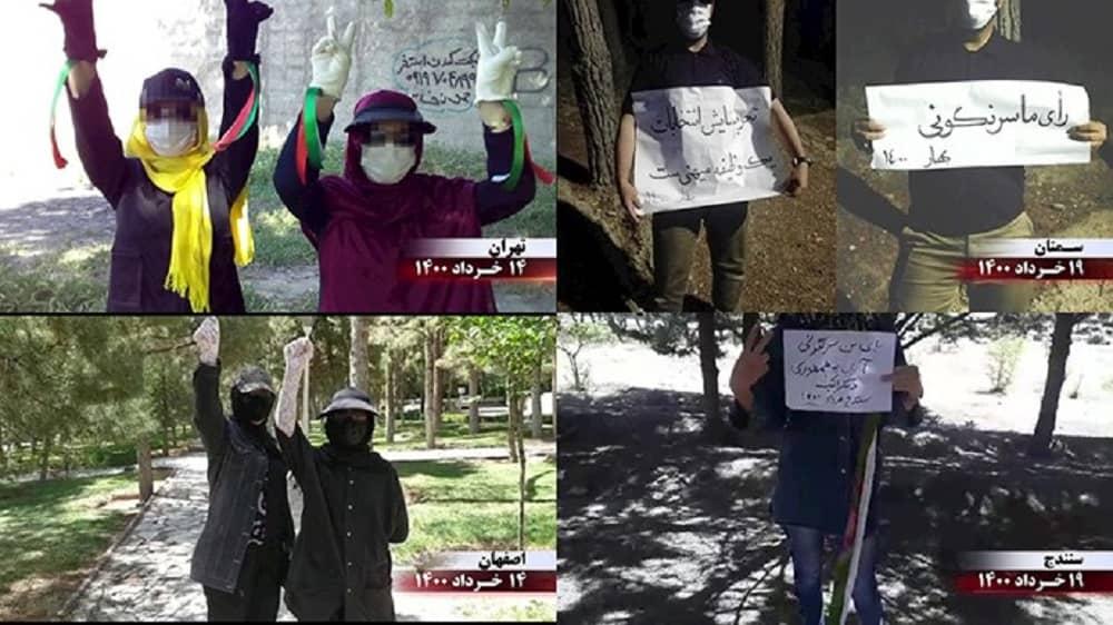 Activities by MEK Resistance Units in Iran - June 2021