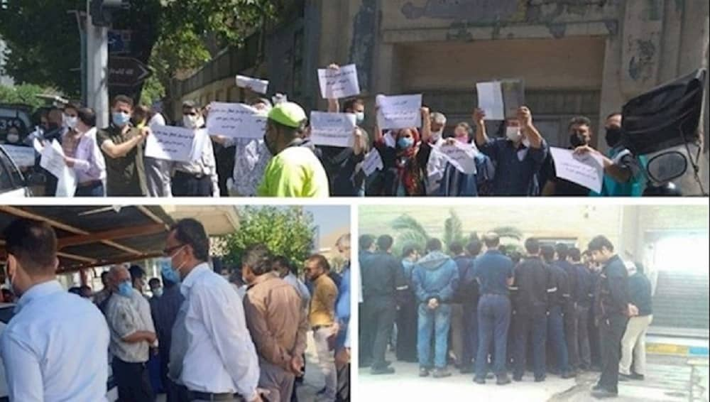 Protests in several Iranian cities - June 2021