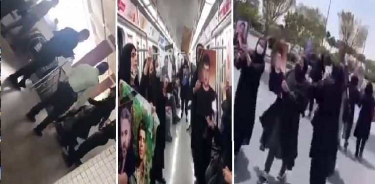 Iran: Mothers and Families of November 2019 Martyrs Demonstrate in Tehran