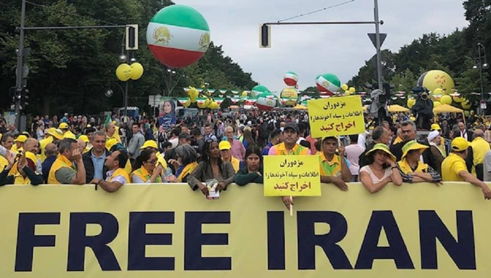 File photo: The Free Iran rally in Berlin – July 6, 2019