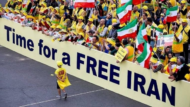Iranians Rally Worldwide Urging Accountability For Ebrahim Raisi For Crimes Against Humanity