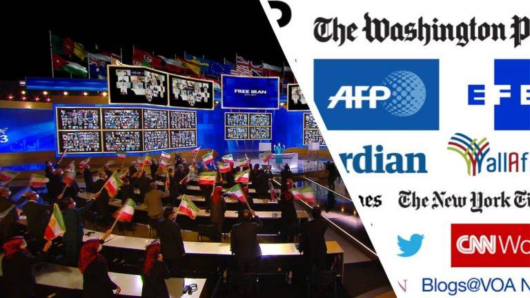 Free Iran World Summit 2021 in International Media Outlet