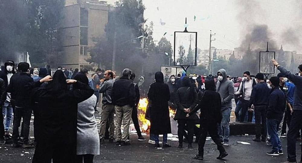 """As the people of Iran grapple with different economic and social crises, state-run media warns about the regime's """"security"""" being jeopardized."""