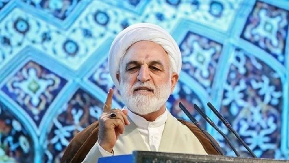 Iranian regime judiciary chief Gholam-Hossein Mohseni-Ejei (1)