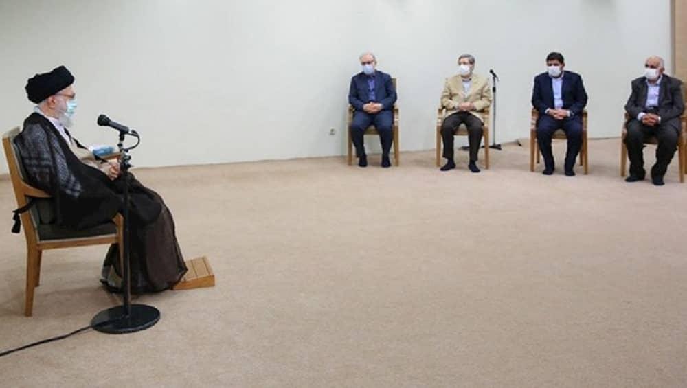 Iranian regime supreme leader Ali Khamenei - July 2021