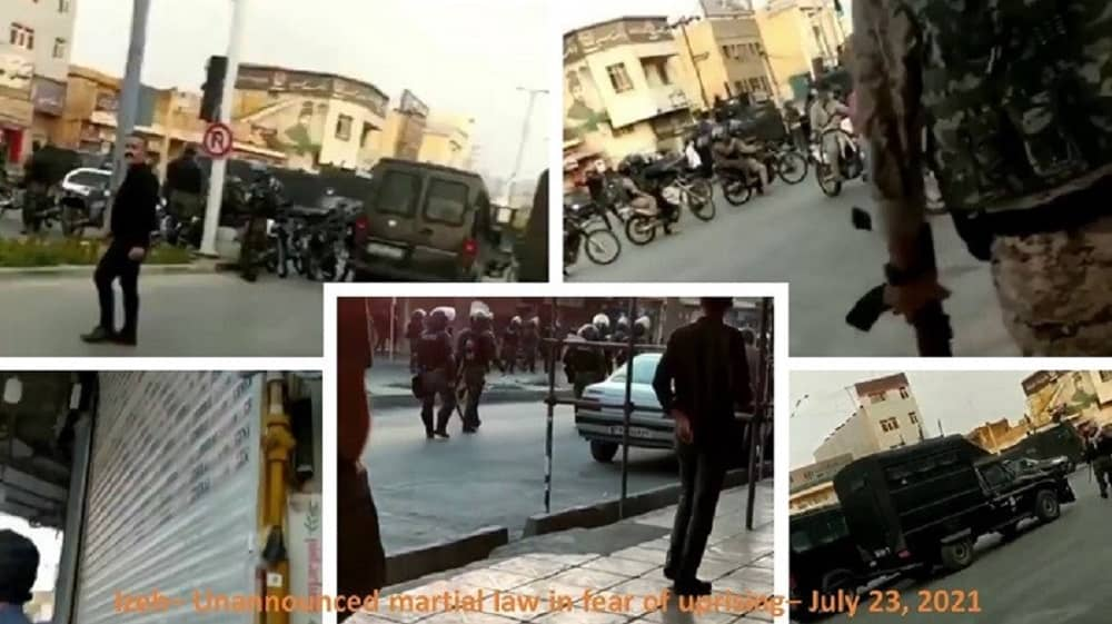 Izeh – Undeclared martial law