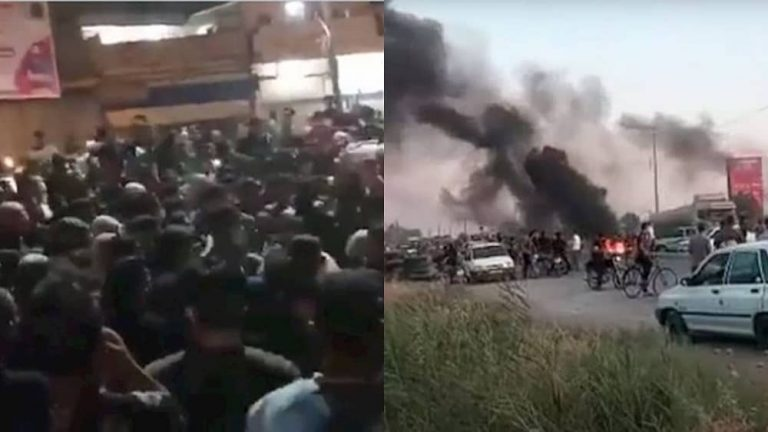 Amid Protests in Khuzestan State Media Acknowledge Source of Crisis and Its Consequences