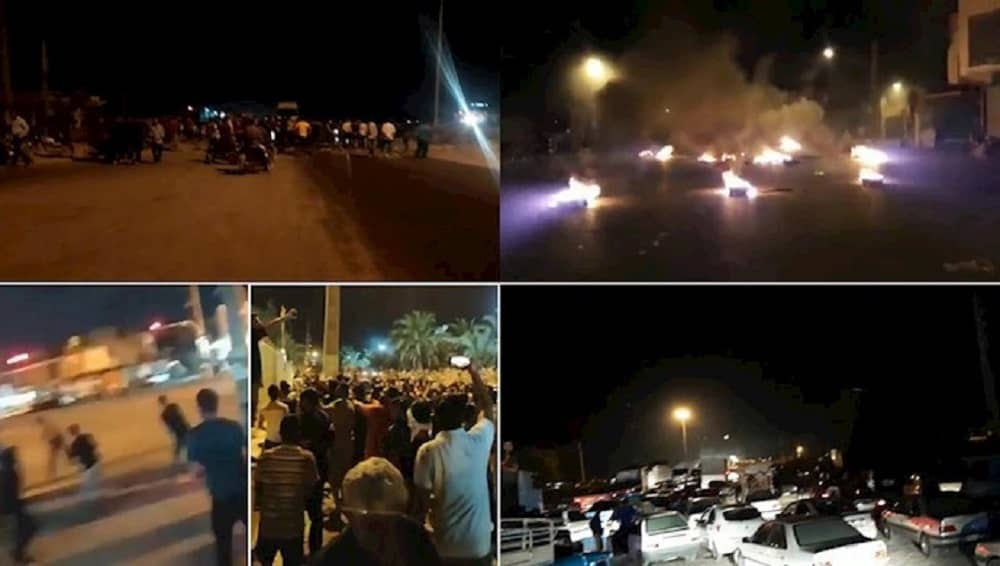 Protests in Khuzestan province over water shortages - July 2021 (1)