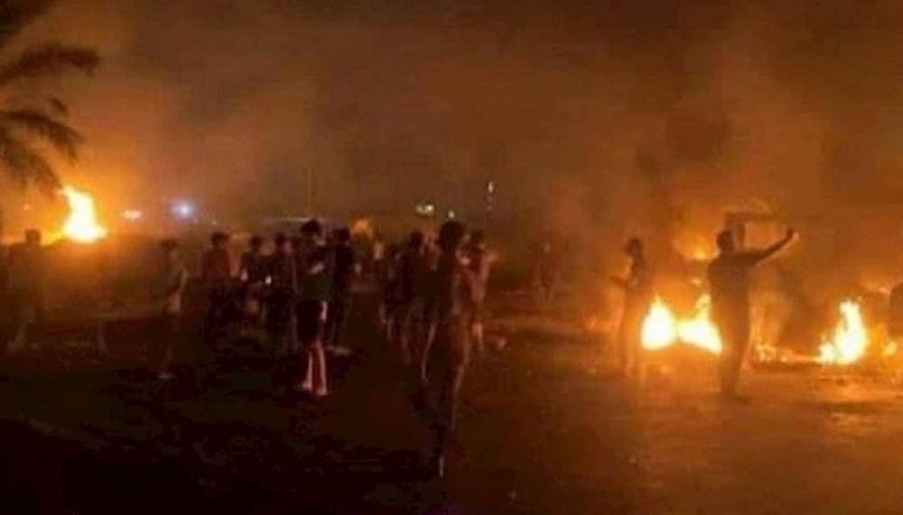 Protes di provinsi Khuzestan atas kekurangan air - Juli 2021