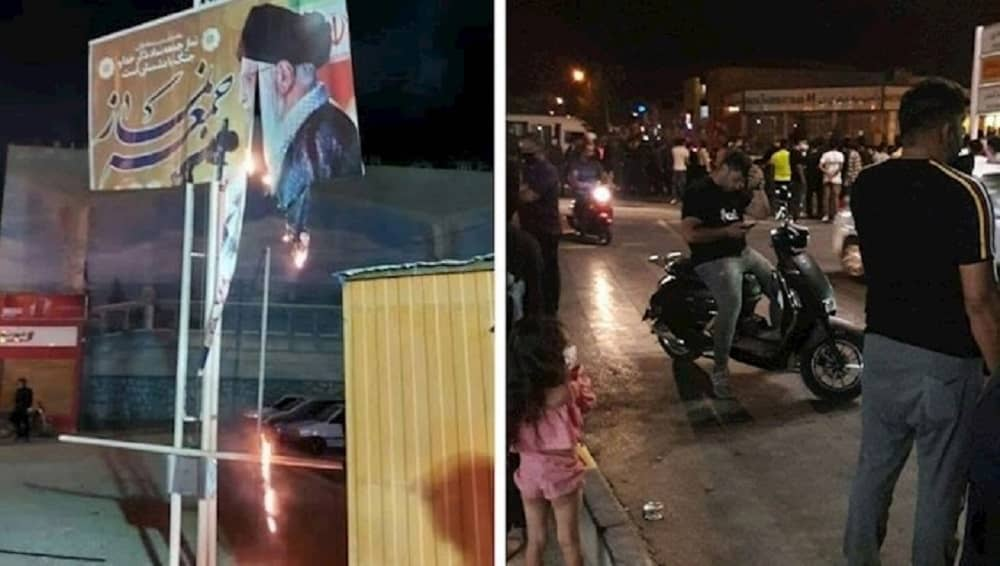 Protests in different Iranian cities (July 2021)