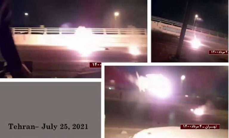 Iran: Transit Routes Blocked in 12 Cities by the Rebellious Youth To Prevent Reinforcement Used To Suppress the Uprising