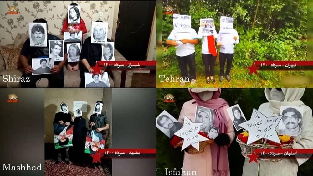 Shiraz, Mashhad, Teheran, dan Isfahan– Aktivitas Unit Perlawanan dan pendukung MEK