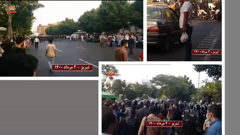 Tabriz – The repressive SSF