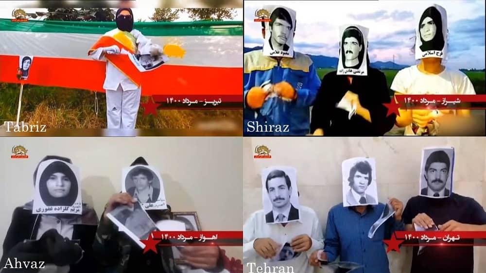 Teheran, Ahvaz, dan Tabriz – Kegiatan Unit Perlawanan dan pendukung MEK