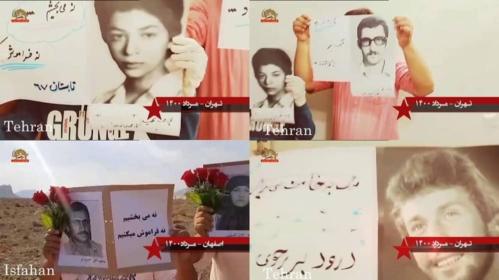 Teheran dan Isfahan – Kegiatan Unit Perlawanan dan pendukung MEK