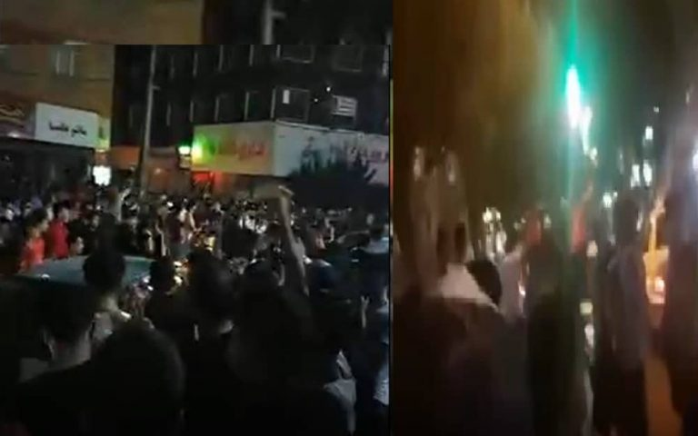 Third Week of the Uprising – Protests by Youth and People of Tehran and Many Other Cities