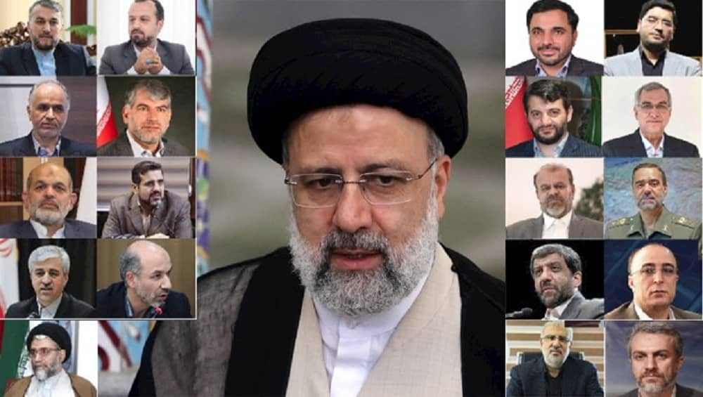 Ebrahim Raisi's cabinet is filled with veterans in corruption, crimes, and terrorism