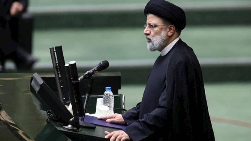 Iranian regime president Ebrahim Raisi - August 2021