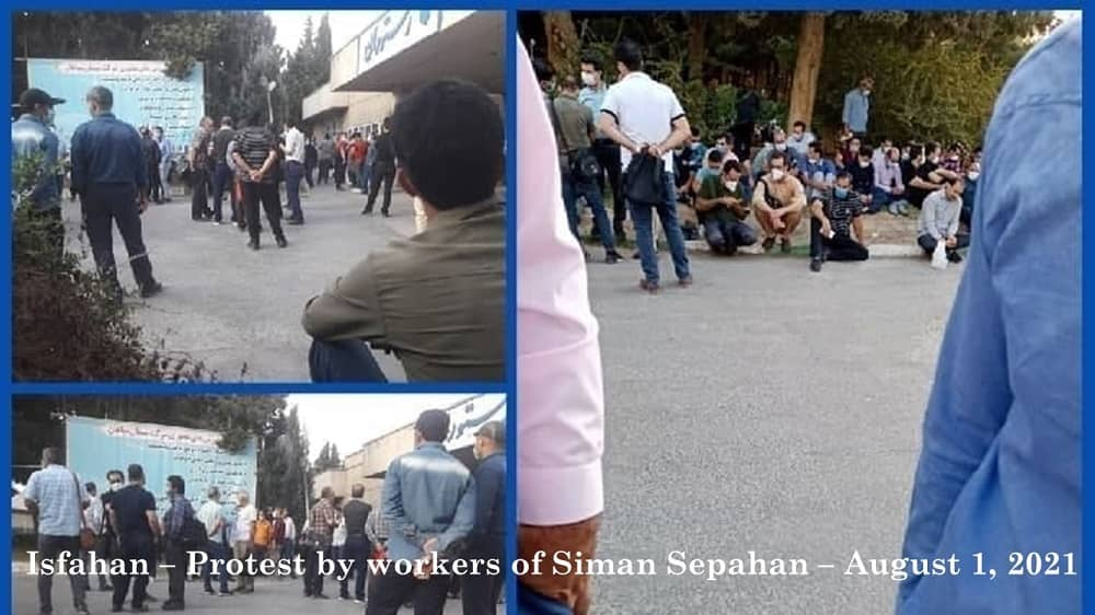Isfahan – Protes Semen Sepahan