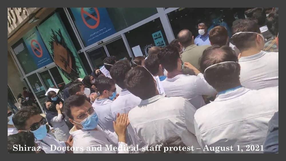 Shiraz – Protes Dokter dan Medis