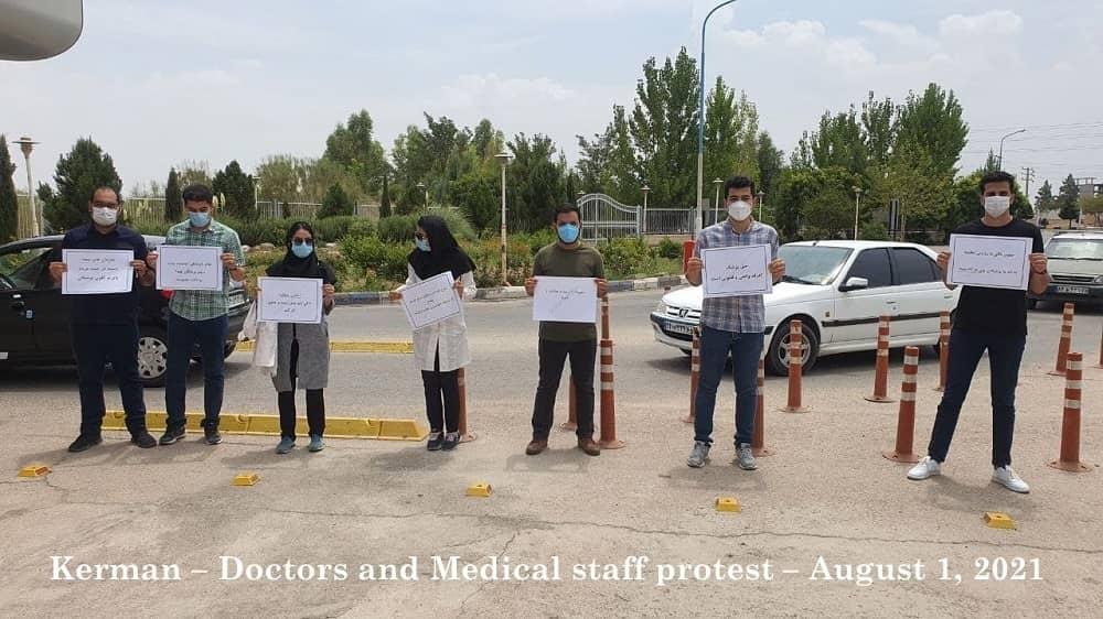 Kerman – Dokter dan staf medis protes