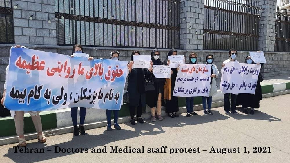 Teheran – Dokter dan staf medis protes