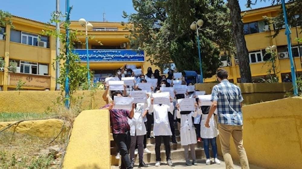 Yasuj – Protes dokter dan staf medis