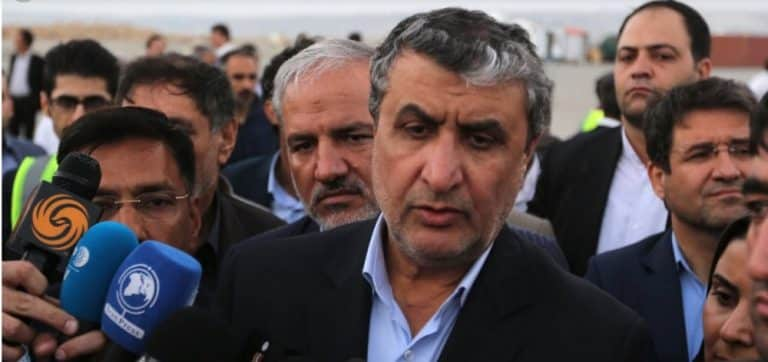 Iran: Mohammad Eslami, The New Head Of The Regime's Atomic Energy Organization Was The Principal Liaison With Abdul Qadeer Khan To Acquire Knowledge Of The Atomic Bomb