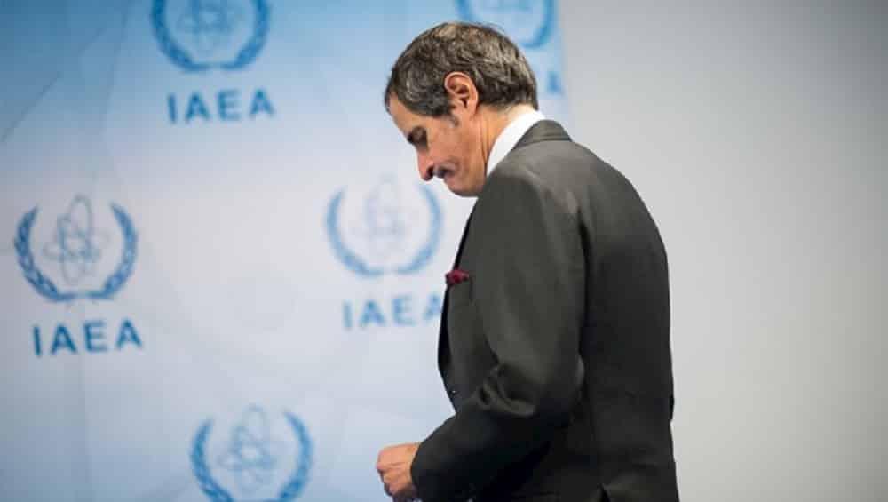 IAEA director general Rafael Grossi