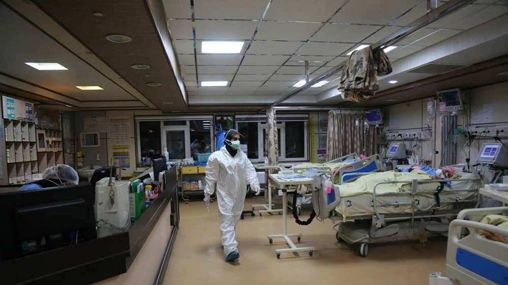 Iran coronavirus hospital