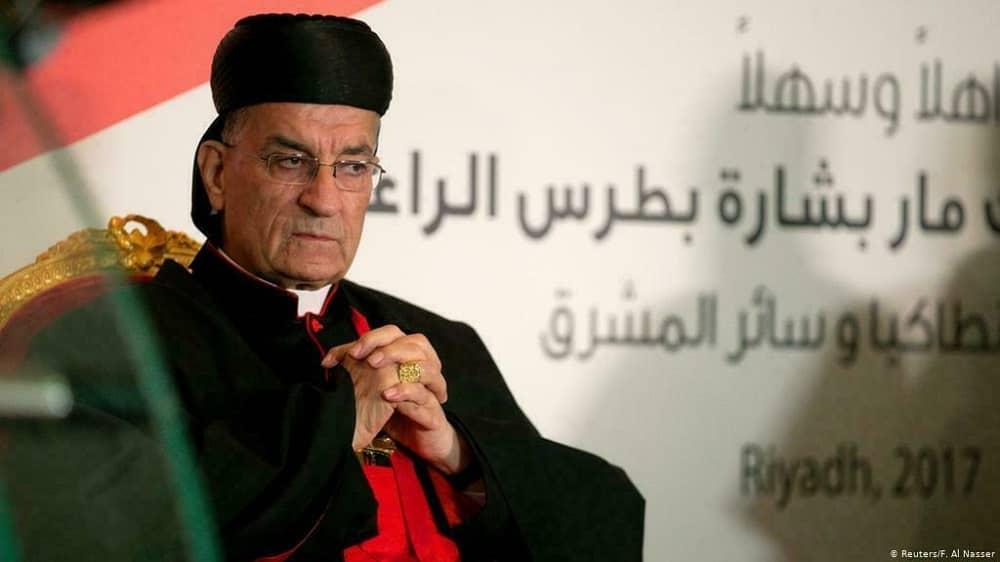 Lebanese Maronite Christian leader Bechara Boutros al-Rahi
