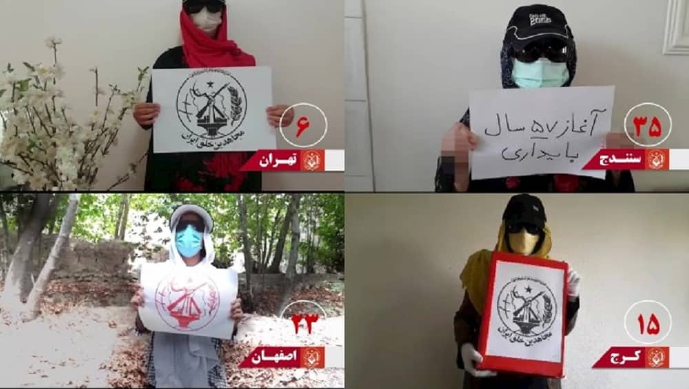 MEK Resistance Units celebrate the anniversary of the founding of the MEK