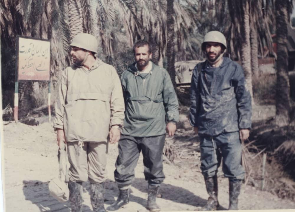 Mostafa Pourmohamadi during Iraq war
