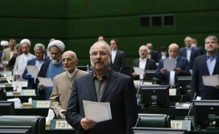 Iran's Corrupted Parliament Speaker Admits the Regime Is in a Deadlock