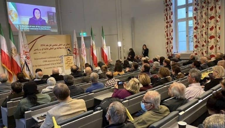Iran: Conference of Dozens of the Survivors and Witnesses of Ebrahim Raisi's Crimes During 1988 Massacre