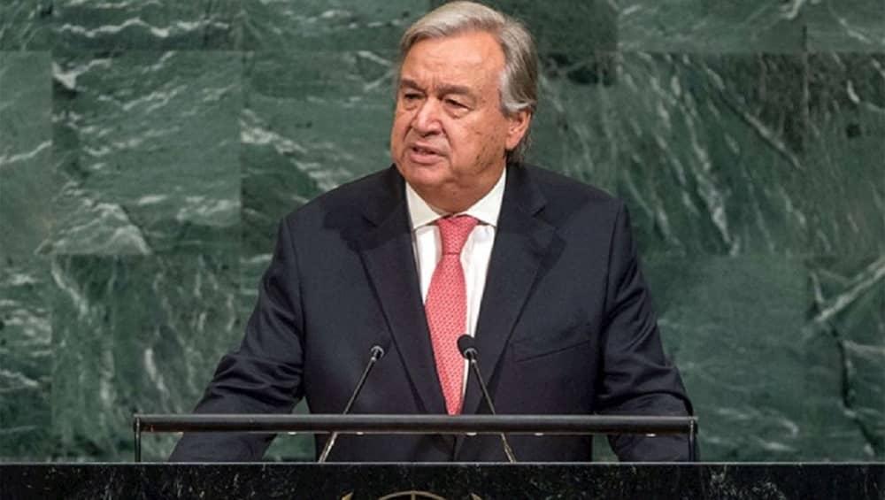 United Nations Secretary General Antonio Guterres (1)