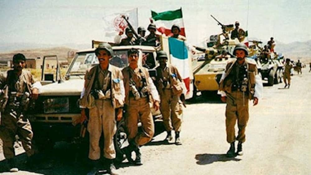 Units of the National Liberation Army of Iran fighting inside Iran in between intense battles against the mullahs' Revolutionary Guards (IRGC)