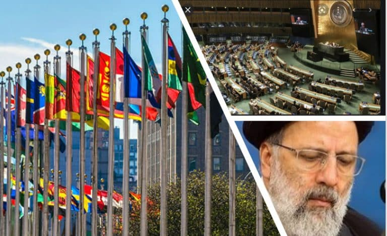 Iranian Regime's President Should Be Prosecuted Instead of Being Allowed To Speak at the UN